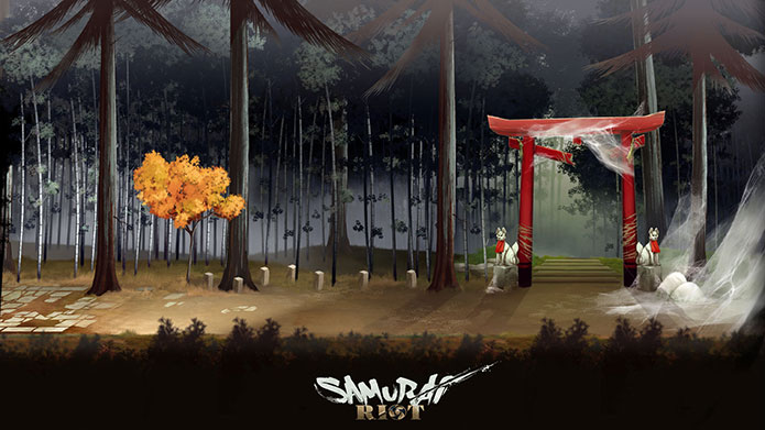 Samurai riot wako factory for Peinture boiro jeu deffet